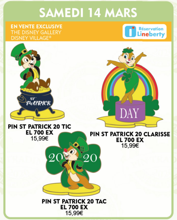 March 14th pin releases