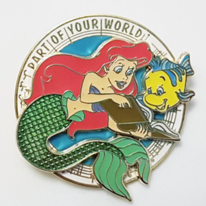 """Magical Musical Moments No. 3 - The Little Mermaid - """"Part of Your World"""" pin"""