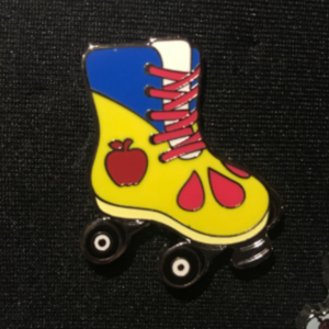Snow White Rollar Skate pin