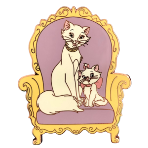 Marie and Duchess - Animal Parents ACME pin