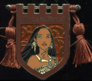 Princess Tapestry - Pocahontas pin