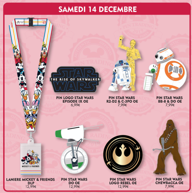 December 14th pin releases