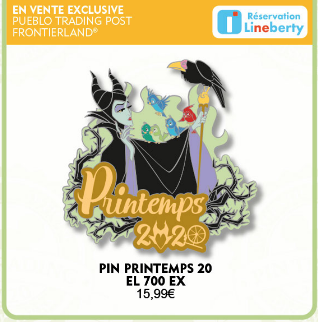 March 21st pin release