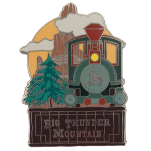 Big Thunder Mountain - Disneyland Paris Attractions pin