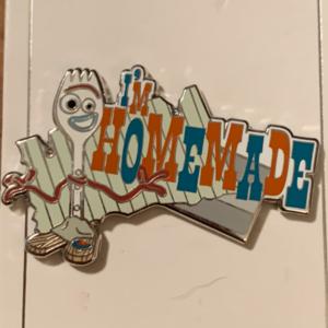 Forky - I'm Homemade pin