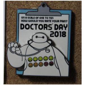 Doctor's Day 2018 - Baymax pin