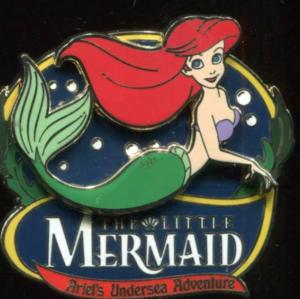 DLR - The Little Mermaid Ariel's Undersea Adventure (Ariel) pin