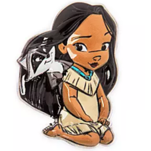 Pocahontas Mystery Animators pin