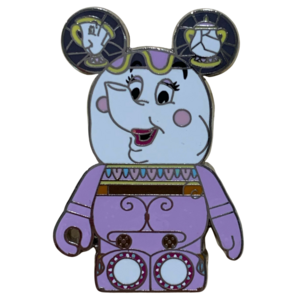 Beauty and the Beast Vinylmation - Mrs Potts pin
