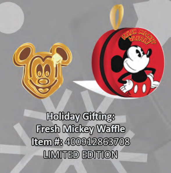 Fresh Mickey Waffle pin