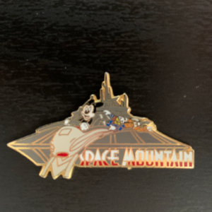 Space mountain  pin