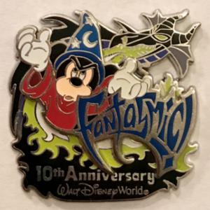 Fantasmic 10th Anniversary at Disney's Hollywood Studios pin