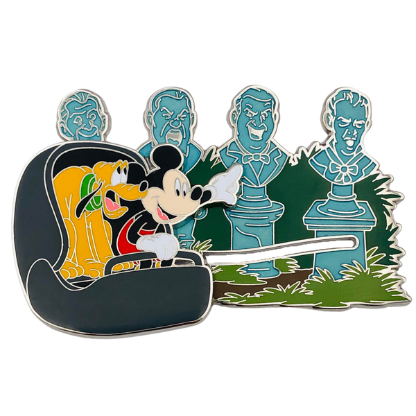 The Singing Busts - Phantom Manor pin trading event - DLP pin