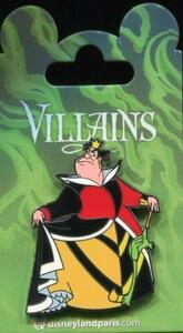 DLP Villains - Queen of Hearts pin