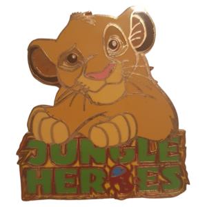 DLRP - Jungle Heroes - Simba pin