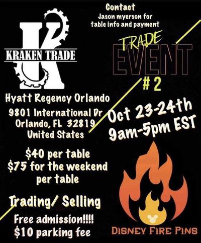 Kraken Trade event