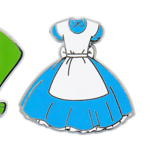 Alice's Dress pin