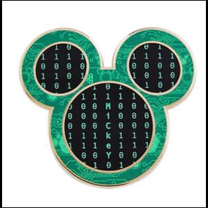 Mickey head technology pin