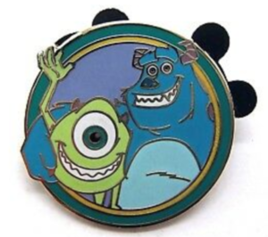 Mike and Sully - Disney's Best Friends Mystery Collection pin