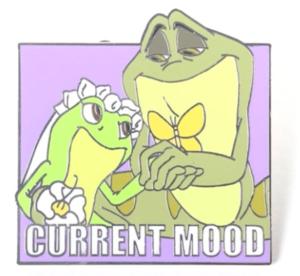 Tiana and Naveen Loving - Current Mood pin