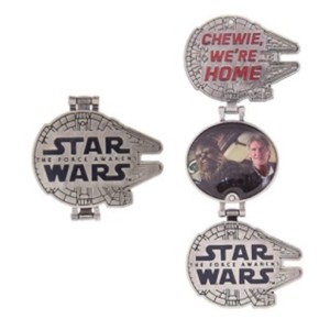 Han and Chewbacca  pin