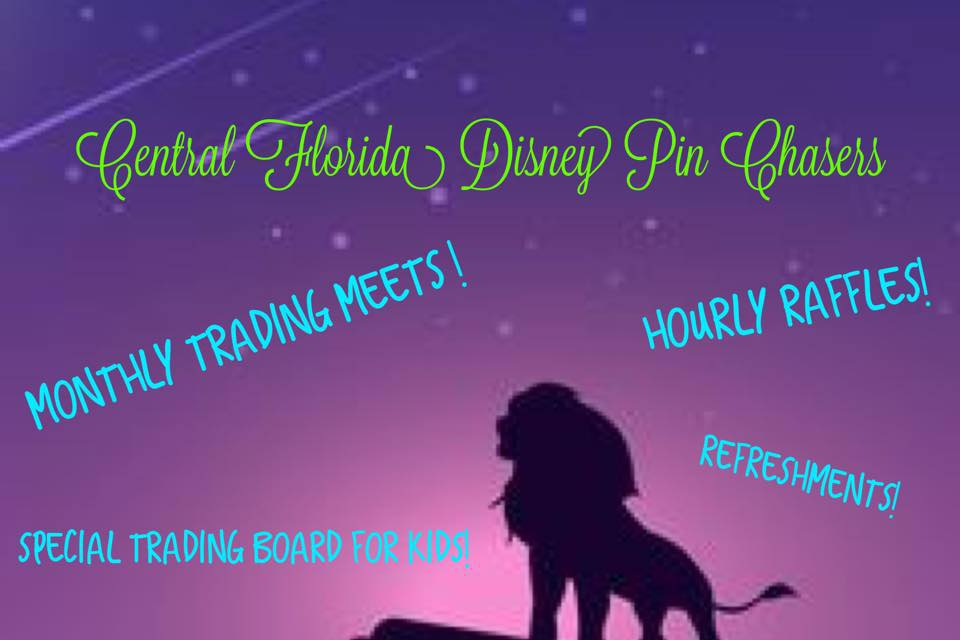 Central Florida Disney Pin Chasers July meet