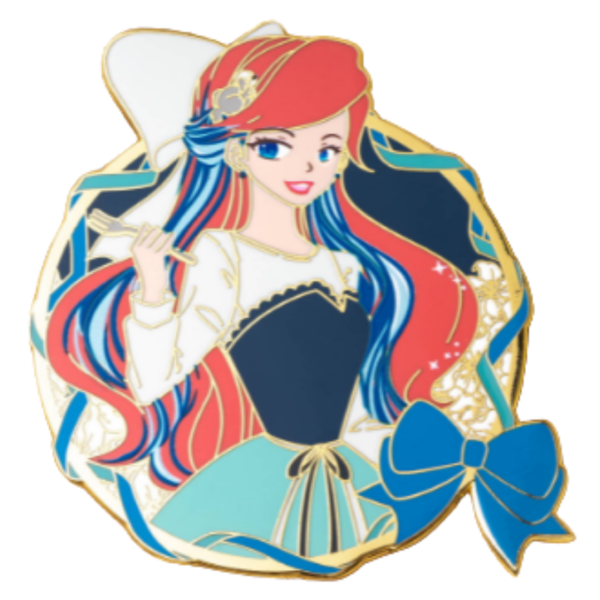 Dream Maiden Ariel - Oo De Lally pin