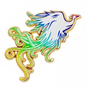 Live action Mulan phoenix pin