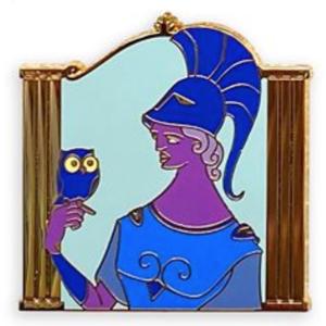 Athena - Hercules Gods Mystery Pin Set pin