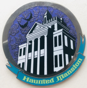 Haunted Mansion Front pin