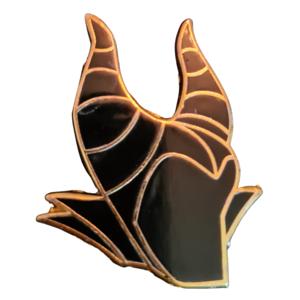 Maleficent Head - Character Hats pin