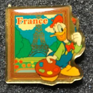 Mornings France Donald pin