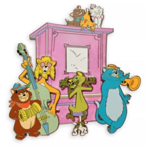 Aristocats 50th anniversary jumbo pin