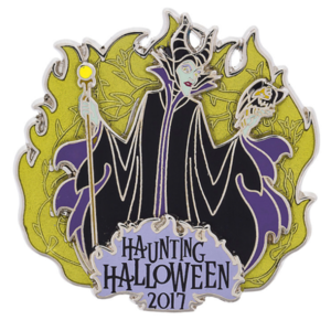 Maleficent Haunting Halloween 2017 pin