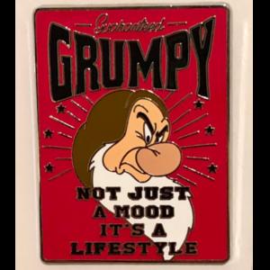 Guaranteed Grumpy pin