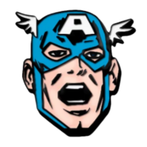 Captain America - D23 Exclusive - 80th Anniversary Captain America pin