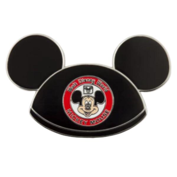 Mickey Mouse Club hat pin– Walt Disney World 50th Anniversary pin