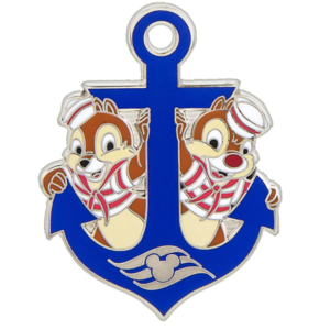 Chip and Dale Anchor pin