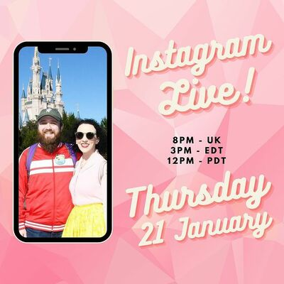 Pin Trader Club are doing an Instagram Live