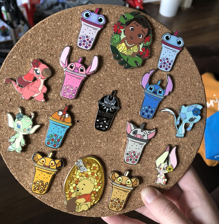 Some of her fantasy pins