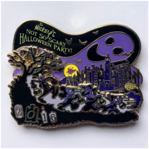 2016 MNSSHP ghost sihouette pin