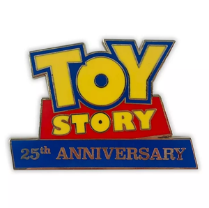 Toy Story 25th Anniversary pin