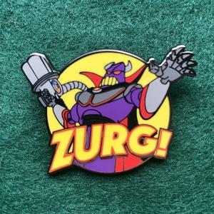 Evil Emporer Zurg! pin