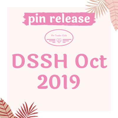 Disney Studio Store Hollywood October 2019 pin release