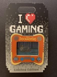 I Love Gaming Pocahontas  pin