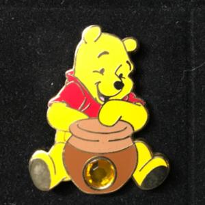 DS - 12 Months of Magic - Birthstone - November/Topaz pin