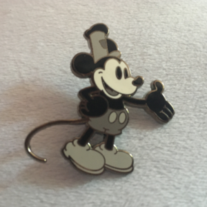 Steamboat Willie from Heroes vs Villains mystery set pin