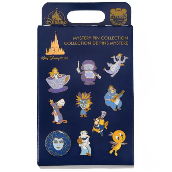 Remy - 50th Anniversary Mystery Box set - Walt Disney World 50th Anniversary pin