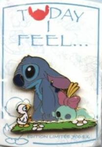 Today I Feel...Sad - Stitch pin