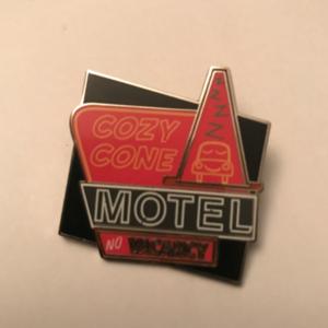 Cozy Cone Motel - Cars Land  pin